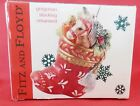 Fitz & Floyd Gregorian Horse in Stocking Ornament In Box 2002 Christmas