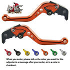 MC Short Adjustable CNC Levers KTM 950 Supermoto 2007 - 2008 Orange