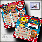 PAW FRIENDS toddler 2 premade scrapbook pages paper printed layout CHERRY 0135