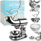 Ice Shaver Machine Professional Electric Icy Maker Crusher Sno Shaved Commercial
