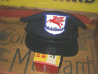 Vintage Collectible MOBIL Oil Service Gas Station Attend Uniform Hat Cap Patch
