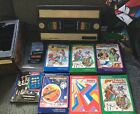 Lot Intellivision Console with 9 Complete Games Tested and Works