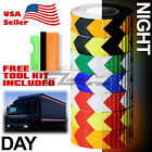 Arrow Conspicuity Tape 2x120 Reflective Safety Warning Sign Car Truck RV