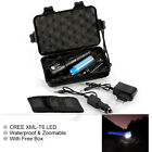 Flashlight T6 Cree Led Torch Xml Zoomable Set Charger 18650 Battery Holster Kit