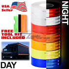 Reflective Conspicuity Tape 2x150 DOT C2 Safety Warning Sign Car Truck RV