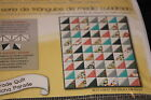 NIP Simple Quilts Half Square Triangle Kit 48x48 Parade