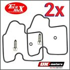 2X Carburettor Repair Kit Kawasaki KVF 750 B BRUTE FORCE HARDWOOD GREEN HD 4WD