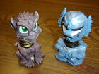 Two 4 Bobbleheads Outer Spase Alien  Planto Pluto VERY RARE
