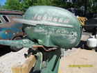 EARLY 1950S 25 HP JOHNSON OUTBOARD MOTOR NOT RUNNING YOU PICK UP