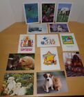 Lot of 9 Asst Animal Pet Greeting Cards w Env by Humane Society Animal Welfare