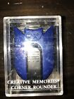 Creative Memories Corner Rounder Maker Paper Punch Old Blue Style with Case