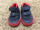 Childrens Place Shoes Boys Size 4 Black Red