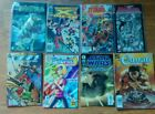 Lot of eight various years Comics Books