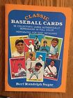 2 Books Of REPRINT Classic Baseball Cards Hall Of Famers