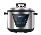Digital Electric Pressure Cooker 11 Qt Steam Slow Cook Non Stick Stainless Steel