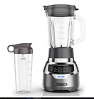 Digital Electric Blender 3 Speed Pulse Quiet Mixer Smoothie Drink Shake Maker