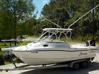 96 HOURS 2005 BOSTON WHALER 235 CONQUEST OFFSHORE SPORT FISHING WALK AROUND BOAT