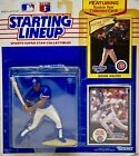 1989 - Starting Lineup / MLB - Jerome Walton - Chicago Cubs Action Figure, Cards