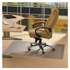 New Durable PVC Chair Mat 36 x 48 Hard Floor Protection Clear Transparent US