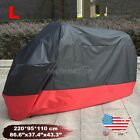 L Waterproof Outdoor Motorcycle Cover Black Fits Suzuki GSX 1100 600 600 750 F