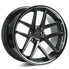 22 ROHANA RC9 GLOSS GRAPHITE CONCAVE WHEELS FOR AUDI A7 S7 A8 S8 22X105