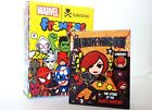 Tokidoki x Marvel Mini Comic Book Frenzies Phone Charm Black Widow