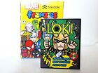 Tokidoki x Marvel Mini Comic Book Frenzies Phone Charm Loki