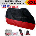 XXL Waterproof Motorcycle Red Cover For Honda VTX 1300 1800 TYPE C R S T RETRO
