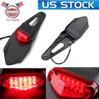 Motorcycle Red 12LED Enduro Fender Lamp Stop Brake Light Tail light For KTM US
