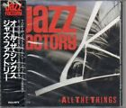 JAZZ FACTORY All The Things JAPAN CD R32J-1075 1987 NEW