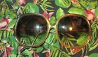 80s Vintage ANNE KLEIN Womens Sunglasses Frames BROWN TORTOISE