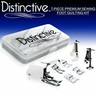 Distinctive 7-Piece Premium Sewing Foot Quilting Package - Includes Even-Feed +