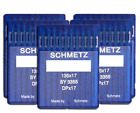 SCHMETZ 50pcs Size 18 20 21 23 24 135x17 DPx17 Walking Foot Sewing Machine