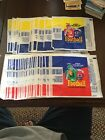 1987 1988 Topps Football Card Wrapper Lot