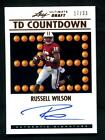 2012 Leaf Ultimate Draft Russell Wilson Rookie Auto Wisconsin Badgers Autograph
