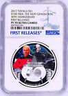 2017 Star Trek THE NEXT GENERATION 30TH ANNIVERSARY Silver 1 Coin NGC PF70 FR