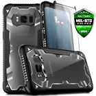 Samsung Galaxy Note 8 S8 S8 Plus Case Zizo Proton 20 w Glass Screen