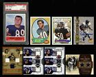 1964-2008 CHICAGO BEARS MIKE DITKA PSA GALE SAYERS AUTOGRAPH DICK BUTKUS 8 CARDS