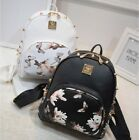 Womens Girls Butterfly Flower Shoulder Bag Handbag Rivet Narcissus Backpack