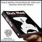 Black Metal Evolution of the Cult SIGNED by author + exclusive art print