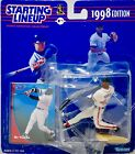 1998 - Kenner / Starting Lineup Mo Vaughn #42 Red Sox Figure & Card MLB OOP