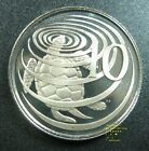 CAYMAN 10 CENTS 1974 NICKEL GEM PROOF A GREEN SEA TURTLE ISLANDS WORLD COIN