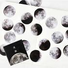 45pcs Calendar Planet Moon Stickers Mini Paper Diary Scrapbooking Label Sticker