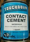 Touchdown contact cement carpet tack strip and vinyl molding adhesive  1quart