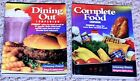 2 Weight Watchers Books SC Dining Out Companion  Complete Food Companion