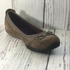 Privo By Clarks Cosign Brown Suede Slip On Shoe Size 9W Cute Comfort Sport