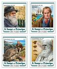 Z08 IMPERF ST17213a Sao Tome and Principe 2017 Charles Darwin MNH Mint