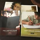 First Language Lessons For The Well Trained Mind Levels 23 and 4 Textbook Lot
