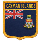 Cayman Islands Patch Red Blue Yellow Gold and White