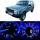 Blue LED Kit Instrument Gauge Cluster Lights Bulbs for 1997 2001 Jeep Cherokee